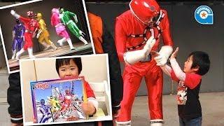 Ressha Sentai ToQger Handshake event and show  -Gacchan