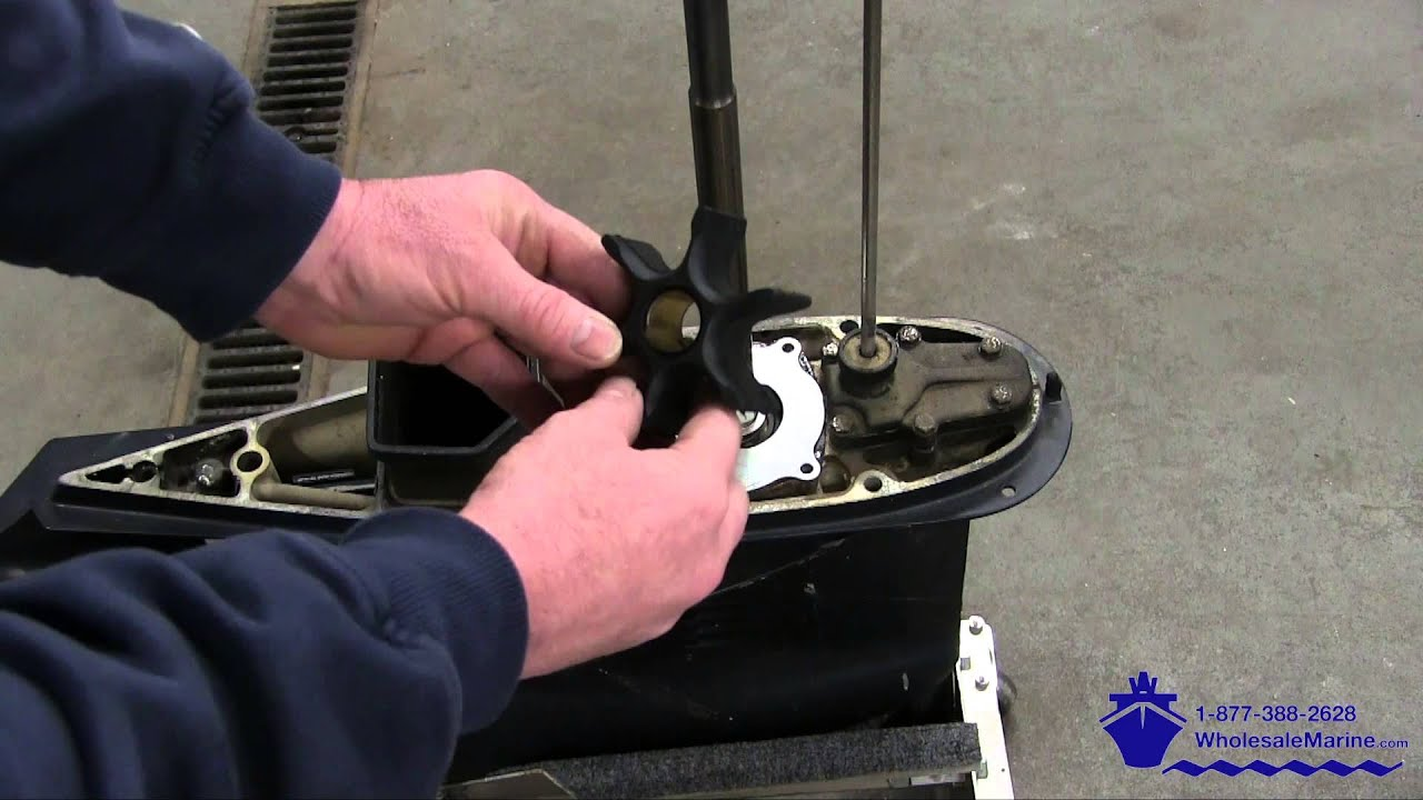 Water Pump Replacement >> How to Replace the Water Pump on a Johnson Evinrude 85 ...