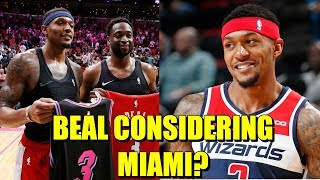 Bradley Beal Will Seriously Consider The Miami Heat In Free Agency