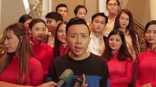 Phỏng vấn Diễn viên - MC Trấn Thành | Hậu trường Kỷ niệm 40 năm | 2016.10.08.(12)