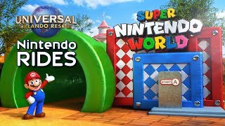 Super Nintendo World's Rides & Attractions at Universal Orlando - ParksNews