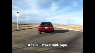 X-pipe vs H-pipe