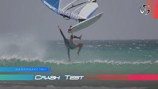 Windsurfing crash | 2018 Loftsails Photoshoot | Tarifa