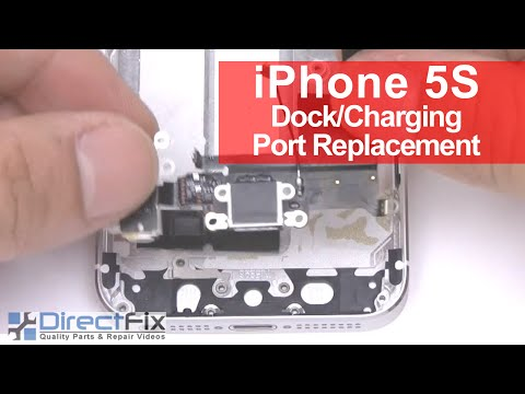 replace iphone charging port how to replace iphone 5s charging port in 5 minutes 3039