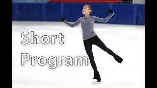 Alena Kostornaya SP - 2018/19 test skates (not full)