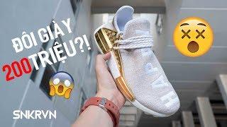 ĐÁNH GIÁ ĐÔI GIÀY 'VÀNG' 200 TRIỆU?! | Pharrell x adidas NMD Hu China Pack