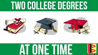 Two College Degrees at one time? Is it legal to take admission in two colleges at one time?