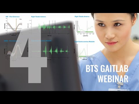 BTS GAITLAB (4th step): acquisition and data processing