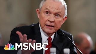 AG Jeff Sessions, Russian Ambassador Spoke During President Donald Trump's Campaign   MSNBC