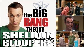 The Big Bang Theory Sheldon Bloopers