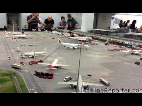 Hamburg's Minatur Wunderland Airport
