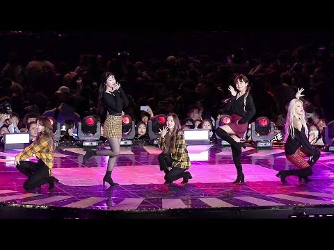 181014 레드벨벳(Red Velvet) Full ver. (Power Up + Red Flavor) [BBQ슈퍼콘] HD 직캠 by 비몽