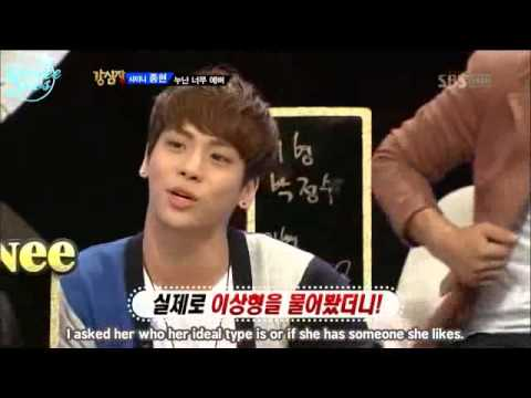 SHINee Jonghyun Talking ABout His Sister :)