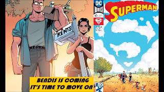 Bendis Is Coming On The Superman Comic Books So Lois & Clark Get Out Of Dodge : Superman #45