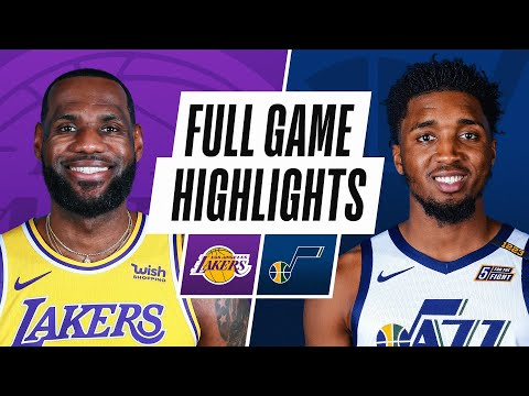 LAKERS at JAZZ | FULL GAME HIGHLIGHTS | February 24, 2021