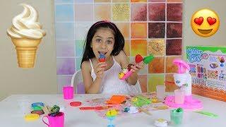 لعبة ماكينة الايس كريم للاطفال ألعاب الطبخ للبنات | Ice Cream Maker ...
