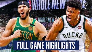 MILWAUKEE BUCKS vs BOSTON CELTICS - FULL GAME HIGHLIGHTS   2019-20 NBA Season
