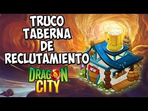 los dragones de la Taberna de Reclutamiento 2014 - Dragon City