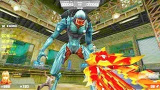 Counter-Strike Nexon: Zombies - Phobos Zombie Boss Fight (Hard7) online gameplay on Last Clue map