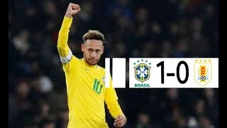 Brazil vs Uruguay (16.11.2018) - International Friendly English Highlights