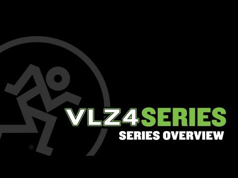 Mackie VLZ4 Series Compact Mixers - Series Overview