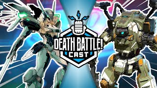 Jehuty vs BT-7274 w/ Castle Super Beast | DEATH BATTLE Cast #228