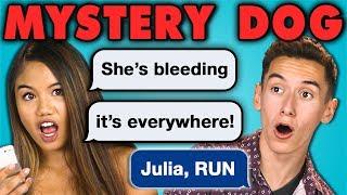 TEENS READ MYSTERY DOG!!!   Creepy Horror Texts (React)