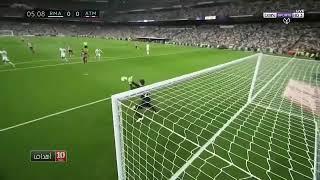 ملخص مباراة ريال مدريد واتليتيكو مدريد0/0تعادل سلبي     -