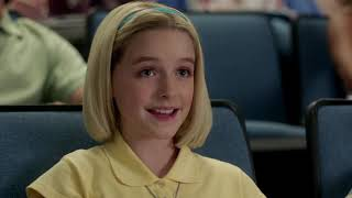 MCKENNA GRACE AS PAIGE ON YOUNG SHELDON PART 1
