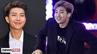 BTS' RM Suffers Music FLUB On Good Morning America!