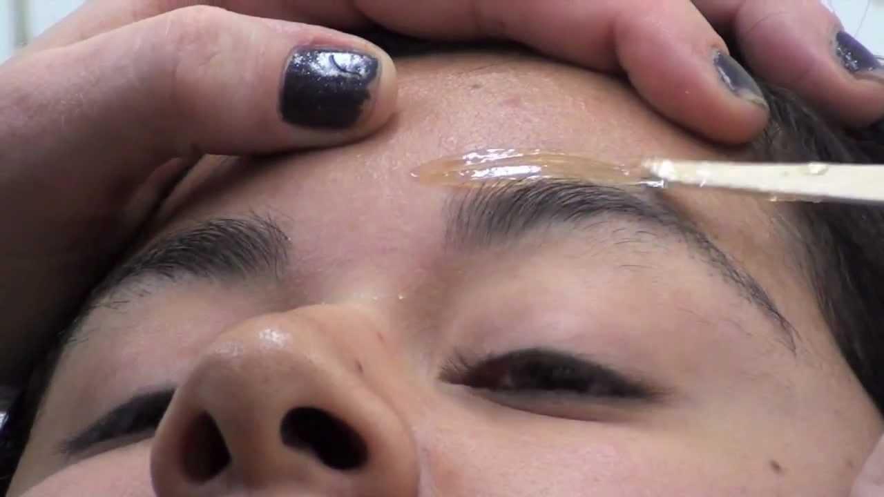 EYEBROW WAX; Wax stuck to the eyelash; MUST SEE; watch to ... | 1280 x 720 jpeg 45kB