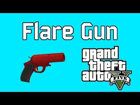 Guns Gta 5 Online Gta 5 Online Flare Gun From