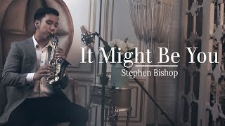 It might be you (Stephen Bishop) - curved soprano saxophone cover by Desmond Amos