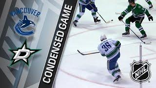 03/25/18 Condensed Game: Canucks @ Stars