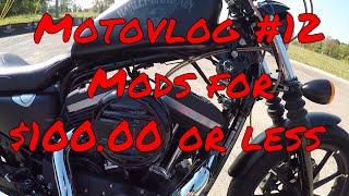 Sportster Iron 883 Motovlog #6-Hammer 1275 Conversion Q&A Pt