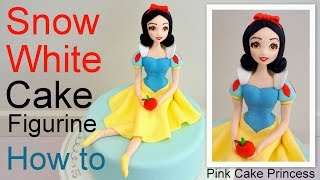 Snow White Cake Figurine how to by Pink Cake Princess