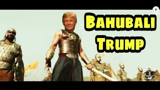 Must Watch: Donal Trump turns as Baahubali, video goes vir..