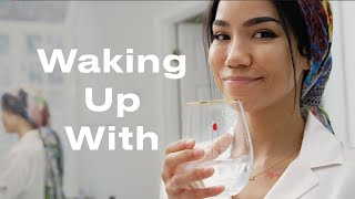 We Spent the Morning with Jhené Aiko, Her Tarot Cards, and Her Beloved Cats | Waking Up With | ELLE