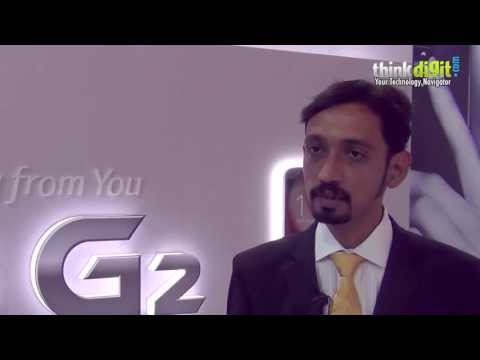 LG G2   Interview with Amit Gujral Head Marketing LG India
