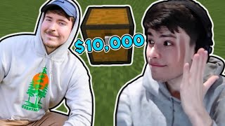 George tries to find MrBeast's $10,000 chest [Dream SMP]