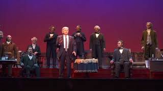 Hall of Presidents Trump with Access Hollywood Tape Audio