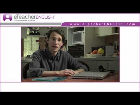 Learn English Online with eTeacherEnglish.com