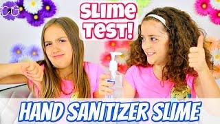 Hand Sanitizer Slime - 1 Ingredient Slime Test!