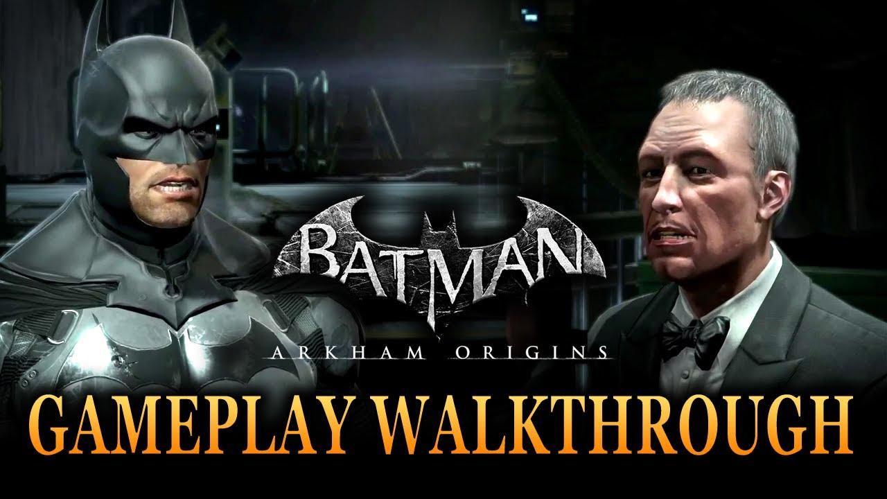 Batman: Arkham Origins - Official Gameplay Walkthrough ...