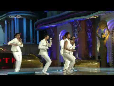 [081120] DBSK - 29th Blue Dragon Film Awards - Mirotic LIVE