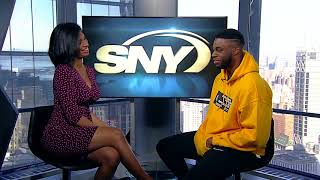 Timeout with Taylor Rooks: Knicks PG Emmanuel Mudiay