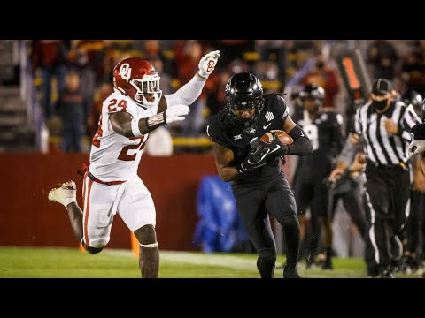 Oklahoma vs Iowa State Football Highlights