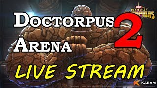 Doctor Octopus Arena - Part 2 | Marvel Contest of Champions Live Stream