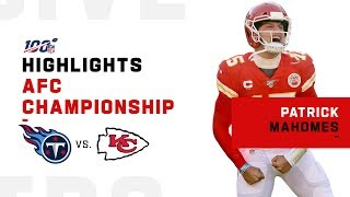 Patrick Mahomes Carries Chiefs to the Super Bowl | NFL 2019 Highlights