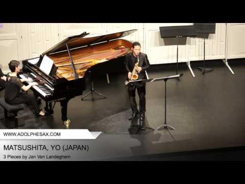 Dinant 2014 - MATSUSHITA, Yo (3 Pieces by Jan Van Landeghem)